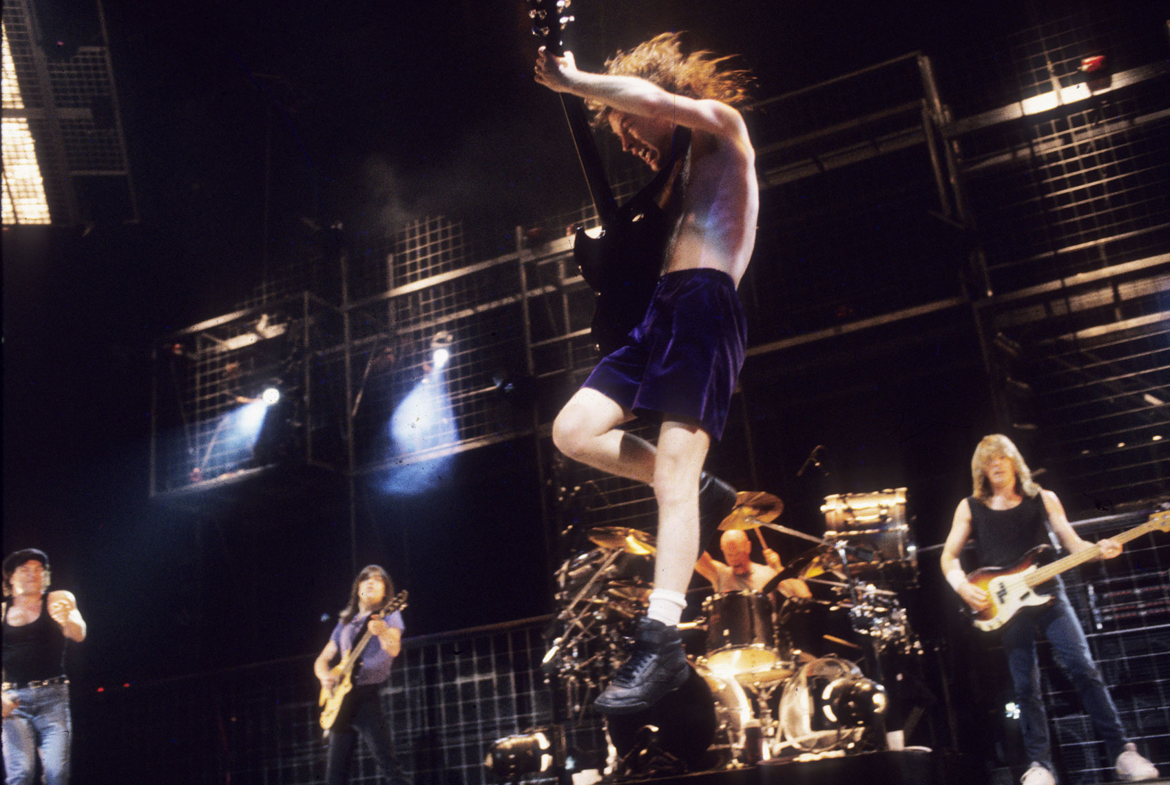 ACDC Live Album Angus Young