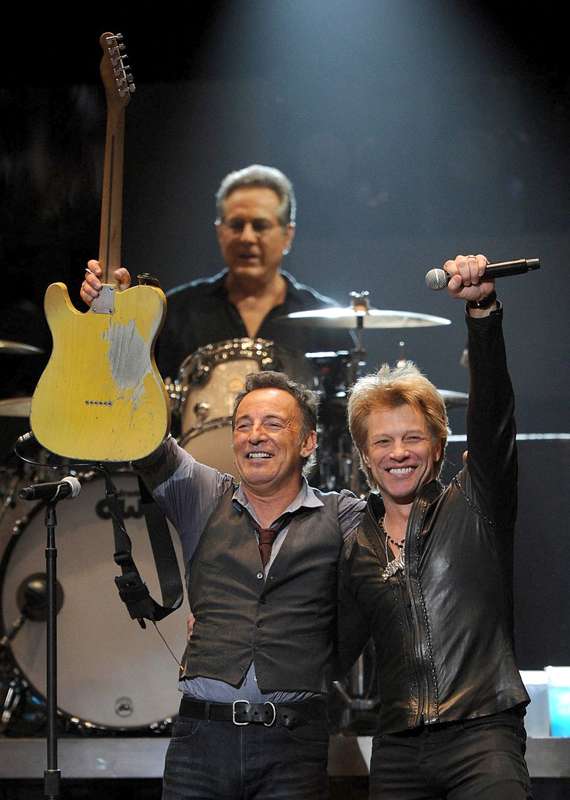 Bruce Springsteen and BonJovi Hurricane Sandy Relief Concert