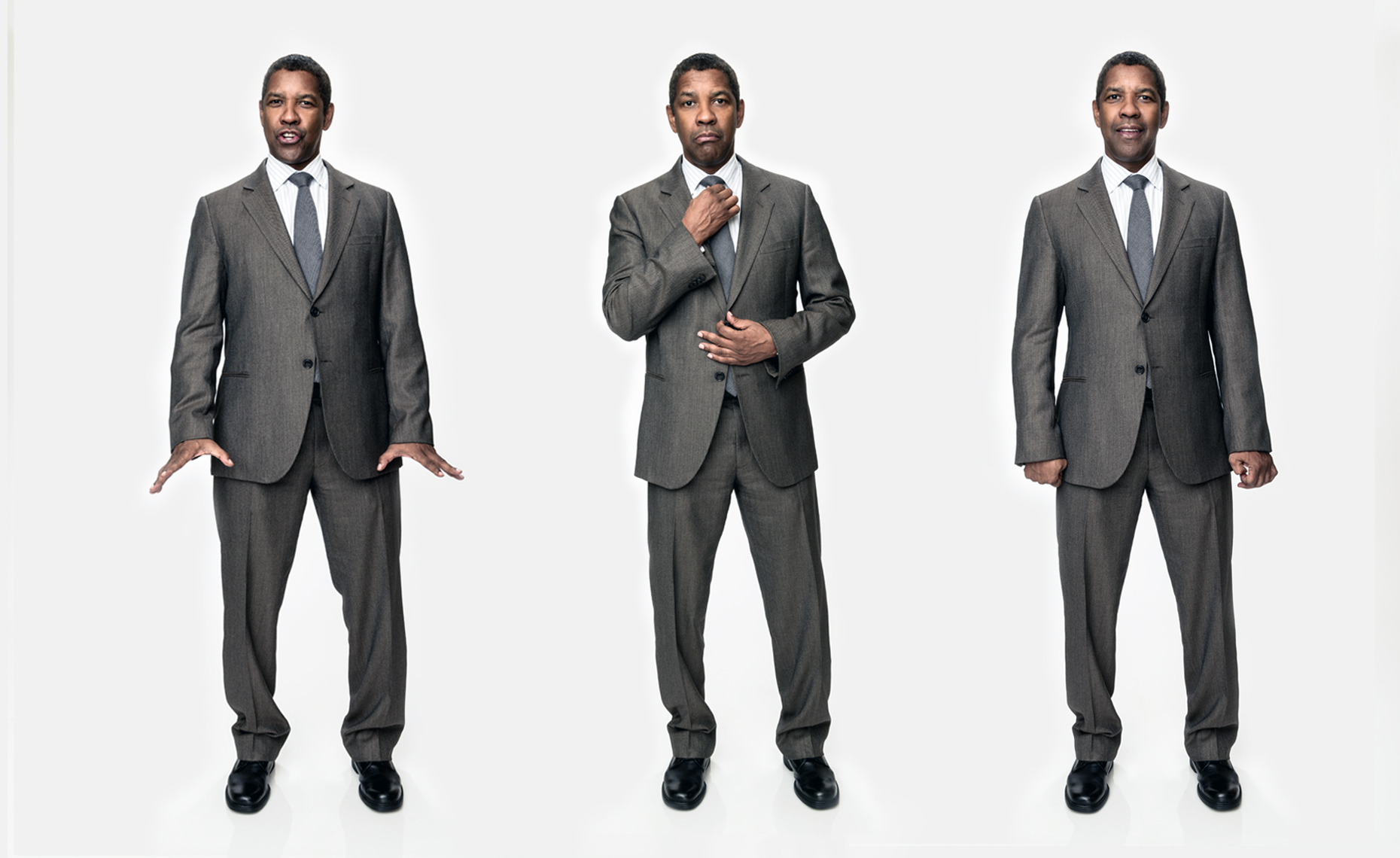 Denzel Washington Triptych