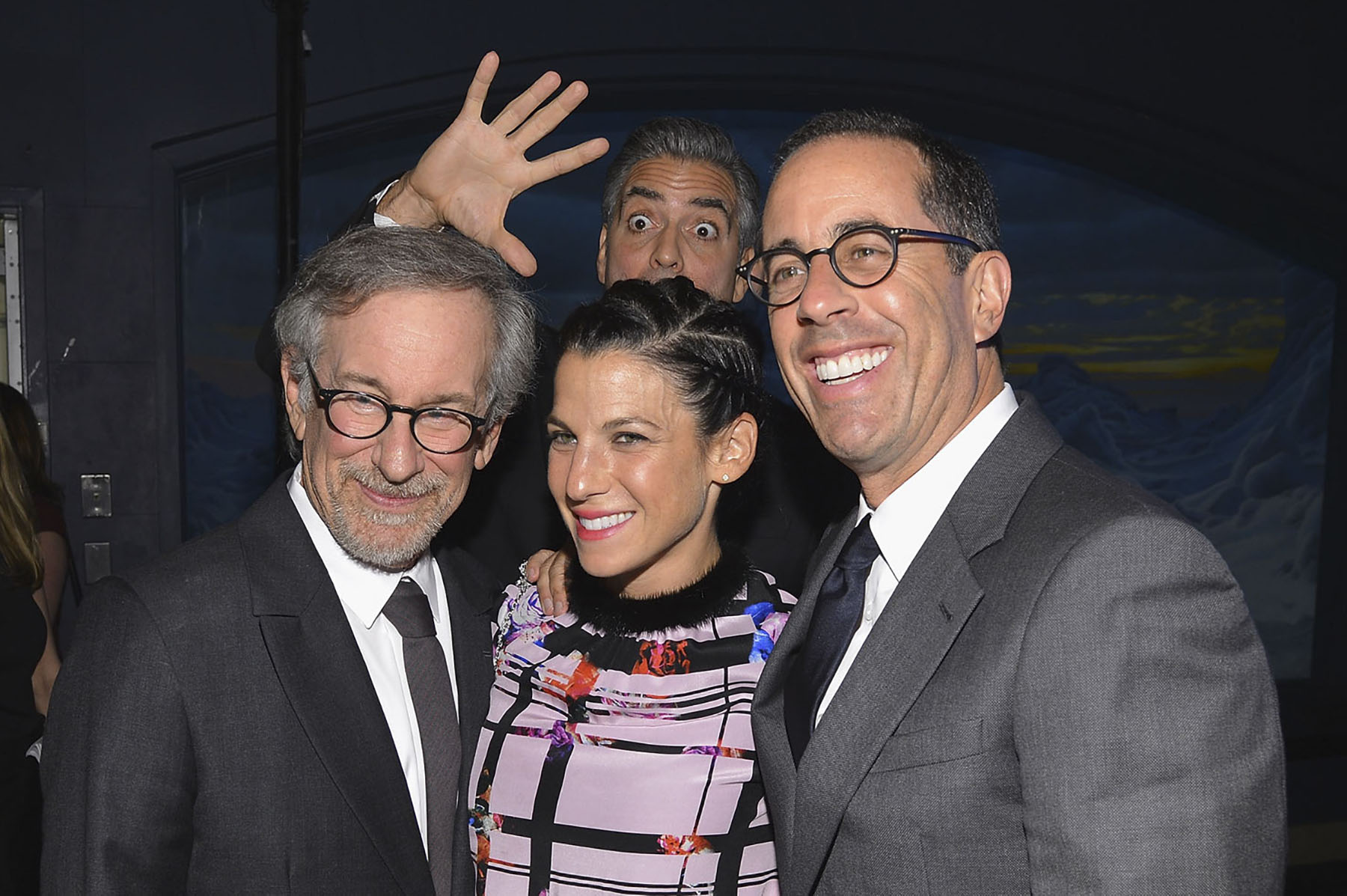 George Clooney Photo Bomb