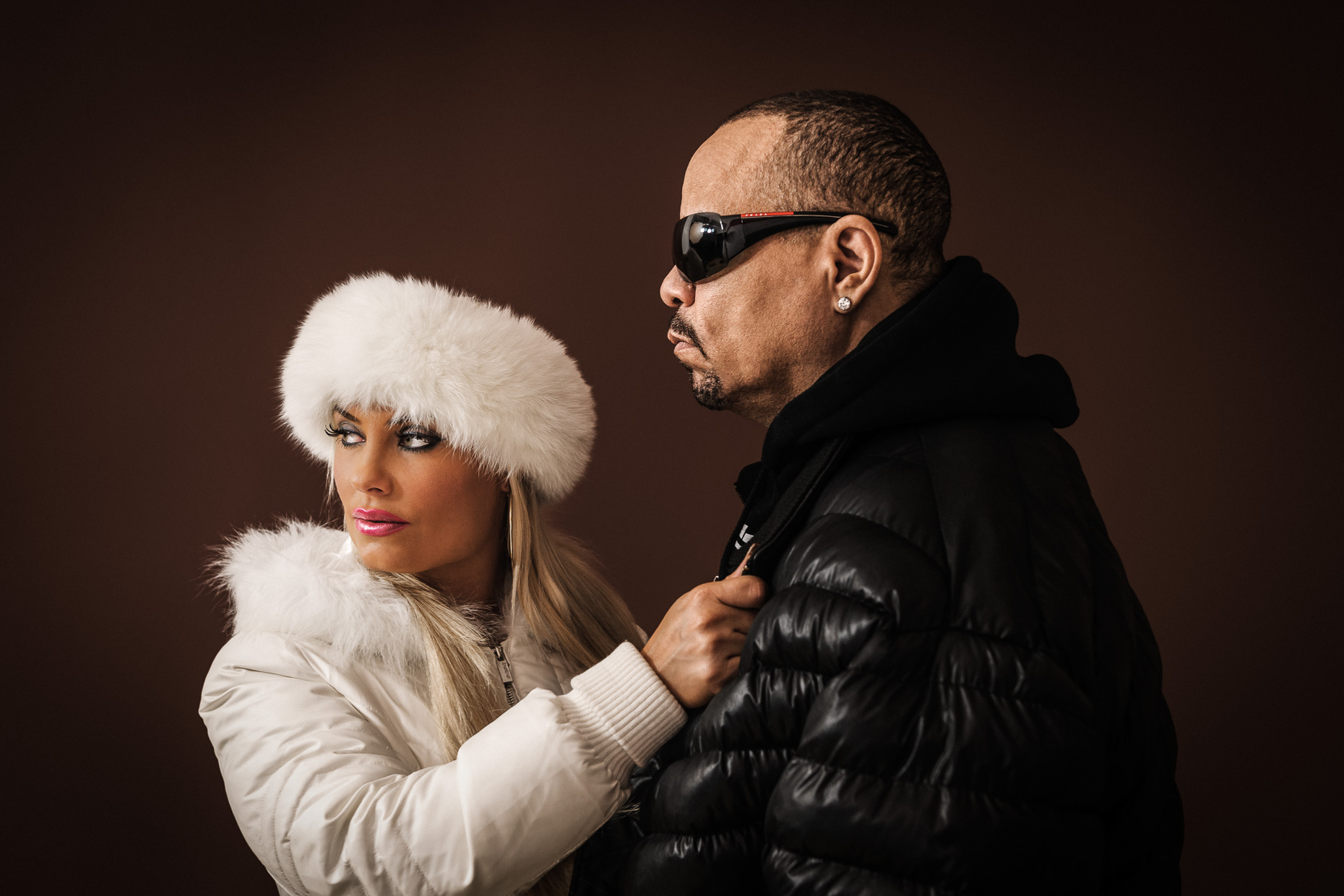 "Nicole ""Coco"" Austin and Ice-T"